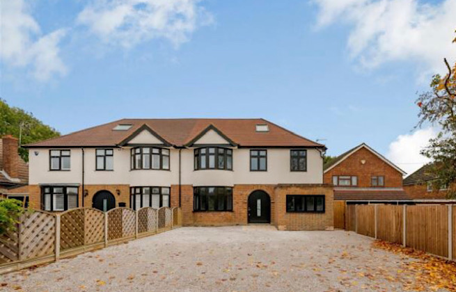 From 3 bed to 5 bed luxury family home